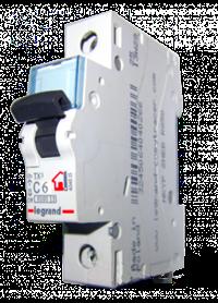 Авт. выкл. 1п C6A TX3 Legrand 404025 - фото 3975