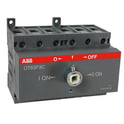 Рубильник ABB OT63F3C без ручки 3п. 63А - фото 9433
