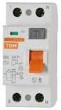Автоматический Выключатель Дифференциального тока TDM АВДТ 63 C50 30мА