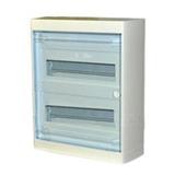 Щиток накладной(прозрач.дверь) IP40 Legrand Nedbox  24(+2) модулей 601247