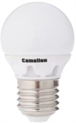 Лампа LED шар 4Вт E27(аналог 40Вт) Camelion LED4-G45/845/E27