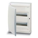 Щиток накладной(бел.дверь) IP41 ABB 24 модуля Unibox