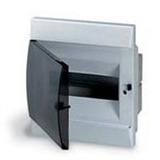 Щиток встраиваемый(черн.дверь) IP41 ABB 8 модулей Unibox