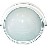 Светильник влагозащищенный круглый с ресницей 100Вт