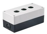 Корпус КП103 для кнопок 3места белый TDM