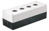 Корпус КП104 для кнопок 4места белый TDM