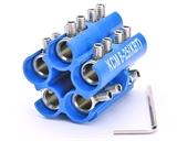 Блоки соединителей в полимерном корпусе КСМ-(1.5-6)