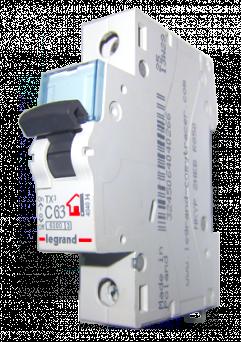 Авт. выкл. 1п C63A TX3 Legrand 404034 - фото 3981