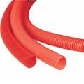 Труба ПВХ гофр.с зондом 20 мм DKС  (ПНД) оранжевая 71520 - фото 4542
