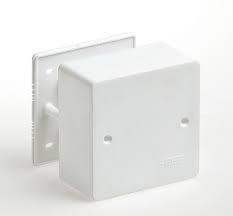 Коробка универсальная для кабель-каналов 65015 85х85х45мм    IP20 - фото 4563