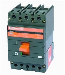 Автоматический выключатель ВА88-35 3Р 160А 35кА TDM - фото 4842