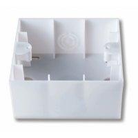 Коробка для наружного монтажа (бел.) Viko Karre - фото 5086