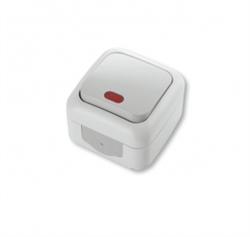 Выключатель 1-клавишный с подсветкой Viko Palmiye - фото 5099