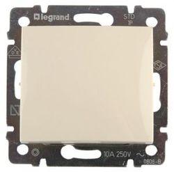 Выключатель одноклавишный 10А Legrand Valena (Сл.кость) 774301 - фото 5129