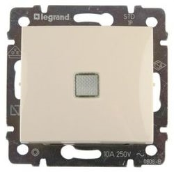 Переключатель промежуточный с подсветкой 10А  Legrand Valena (Сл.кость) 774348 - фото 5152