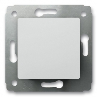 Выключатель 1-клавишный 10А (Белый) Legrand Cariva 773656 - фото 5168