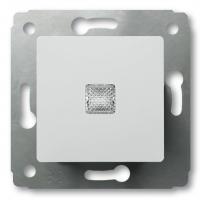 Выключатель 1-клавишный с подсветкой 10А (Белый) Legrand Cariva 773610 - фото 5173