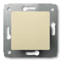 Выключатель 1-клавишный 16А (слон.кость) Legrand Carivа 773700 - фото 5178