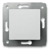 Переключатель 1-клавишный на 2 направления 10А (Белый) Legrand Cariva 773657 - фото 5196