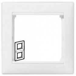 Рамка 2 поста вертикальная Legrand Valena (Белая) 774456 - фото 5255