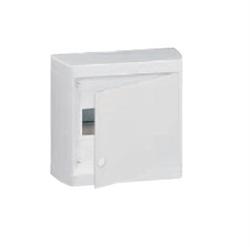Щиток накладной(бел.дверь) IP40 Legrand Nedbox 8 модулей 601235 - фото 5393