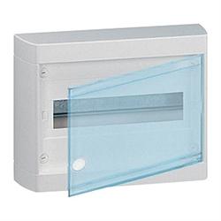 Щиток накладной(прозрач.дверь) IP40 Legrand Nedbox 12(+1) модулей 601246 - фото 5399