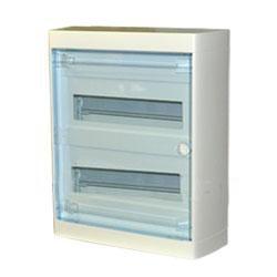 Щиток накладной(прозрач.дверь) IP40 Legrand Nedbox  24(+2) модулей 601247 - фото 5400