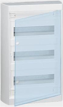 Щиток накладной(прозрач.дверь) IP40 Legrand Nedbox 36(+3) модулей 601248 - фото 5401