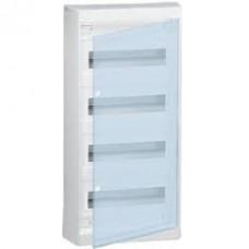 Щиток накладной(прозрач.дверь) IP40 Legrand Nedbox 48(+4) модулей 601249 - фото 5402