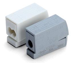 Клемма Wago для освет. оборудывания с пастой 224–111(2 подкл.) - фото 5437