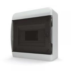 Щиток накладной(черн.дверь) IP40 TEKFOR 8 модулей BNK - фото 5466
