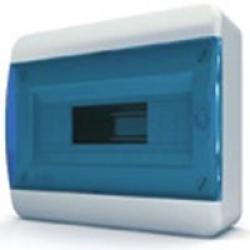 Щиток накладной(син.дверь) IP40 TEKFOR 12 модулей BNS - фото 5480