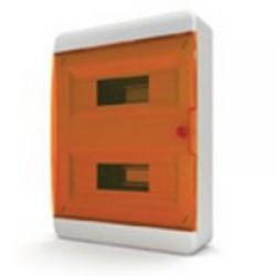 Щиток накладной(оранж.дверь) IP40 TEKFOR 24 модуля BNO - фото 5487