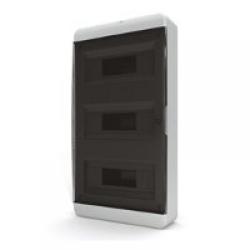 Щиток накладной(черн.дверь) IP40 TEKFOR 36 модулей BNK - фото 5490
