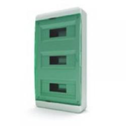 Щиток накладной(зелён.дверь) IP40 TEKFOR 36 модулей BNZ - фото 5491