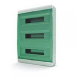Щиток накладной(зелён.дверь) IP40 TEKFOR 54 модуля BNZ - фото 5499