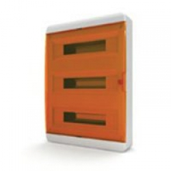 Щиток накладной(оранж.дверь) IP40 TEKFOR 54 модуля BNO - фото 5500