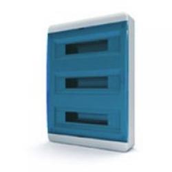 Щиток накладной(син.дверь) IP40 TEKFOR 54 модуля BNS - фото 5501
