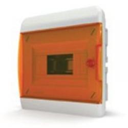 Щиток встраиваемый(оранж.дверь) IP40 TEKFOR 8 модулей BVO - фото 5515