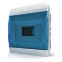 Щиток встраиваемый(син.дверь) IP40 TEKFOR 8 модулей BVS - фото 5518