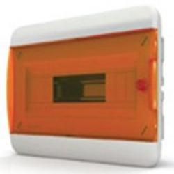 Щиток встраиваемый(оранж.дверь) IP40 TEKFOR 12 модулей BVO - фото 5522
