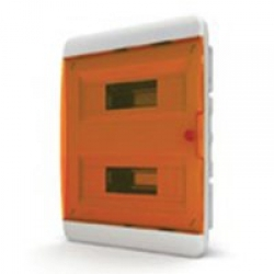 Щиток встраиваемый(оранж.дверь) IP40 TEKFOR 24 модуля BVO - фото 5528