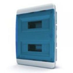 Щиток встраиваемый(син.дверь) IP40 TEKFOR 24 модуля BVS - фото 5529