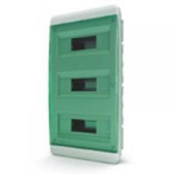 Щиток встраиваемый(зелён.дверь) IP40 TEKFOR 36 модулей BVZ - фото 5532