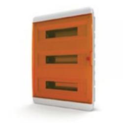 Щиток встраиваемый(оранж.дверь) IP40 TEKFOR 54 модуля BVO - фото 5540