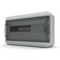 Щиток накладной герметич.(черн.дверь) IP65 TEKFOR 18 модулей BNK - фото 5544