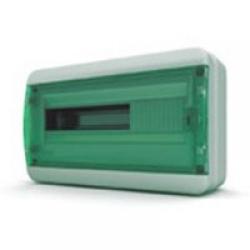 Щиток накладной герметич.(зелен.дверь) IP65 TEKFOR 18 модулей BNZ - фото 5545