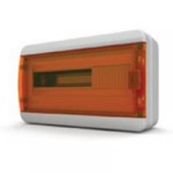 Щиток накладной герметич.(оранж.дверь) IP65 TEKFOR 18 модулей BNO - фото 5546
