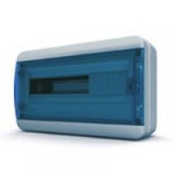 Щиток накладной герметич.(син.дверь) IP65 TEKFOR 18 модулей BNS - фото 5547