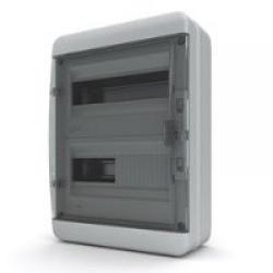 Щиток накладной герметич.(черн.дверь) IP65 TEKFOR 24 модуля BNK - фото 5549